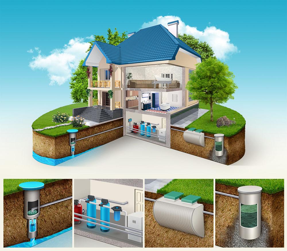 Монтаж водоснабжения: доверяем профессионалам — наслаждаемся результатом