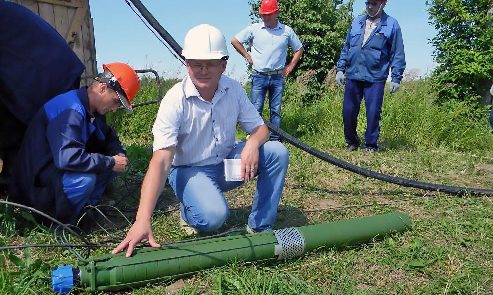 Замена насоса ЭЦВ · Услуги по замене насосов в коллективных скважинах · Ремонт промышленных скважин цена · Замена скважинного насоса