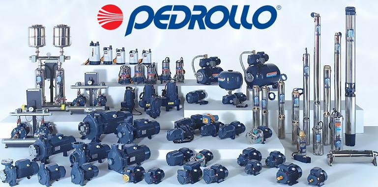 Замена скважинных насосов Pedrollo